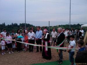 inaugurazione parco giochi