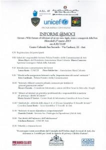 Convegno Minori e Internet Asti 2013