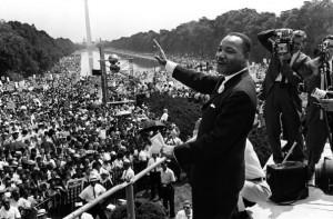 Martin Luther King marcia washington