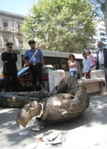 Statua Borsellino Falcone